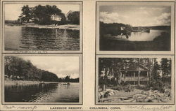 Multiple Views of Lakeside Resort
