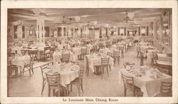 La Louisiane - Main Dining Room Postcard