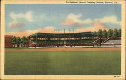 Stadium, Naval Training Station Postcard
