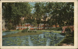 Lily Pond and Tabernacle
