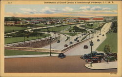 Intersection of Grand Central & Interborough Parkways