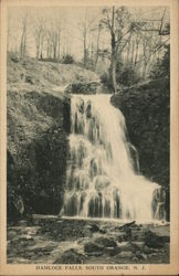 Scenic View of Hamlock Falls Postcard