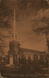 First Park Baptist Church - Harold R Husted, D.D., Minister