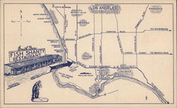 Smith Bros. Fish Shanty Restaurant - Map and Sketch