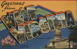 West Virginia Cities - Other Postcards & Images
