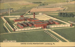 Bird's Eye View of United States Penitentiary