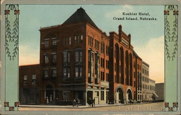 Koehler Hotel Grand Island Nebraska