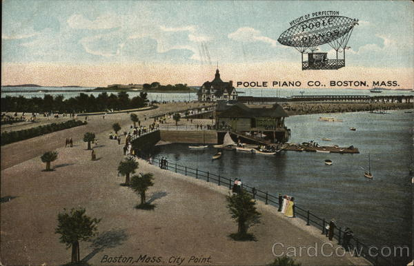 City Point and Poole Piano Co. - Poole Pianos Boston Massachusetts