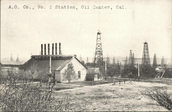 A.O. Co., No. 1 Station Oil Center California