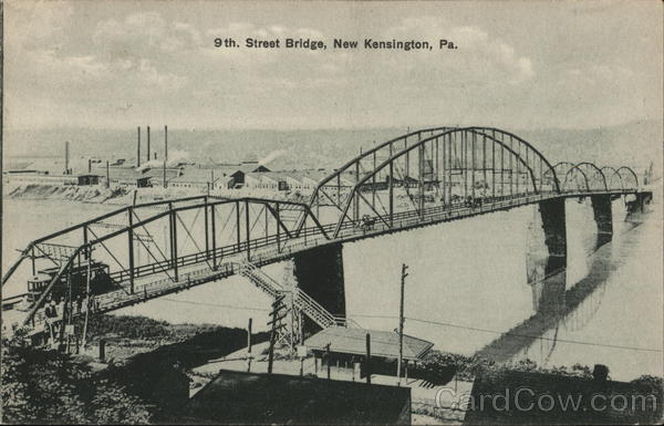 9th Street Bridge New Kensington Pennsylvania