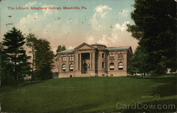 The Library, Allegheny College Meadville Pennsylvania