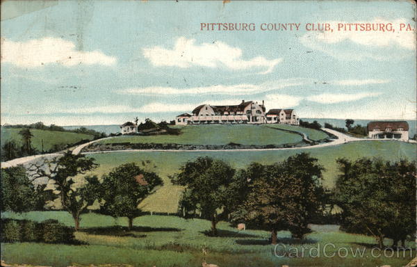 Pittsburg Country Club Pittsburgh Pennsylvania