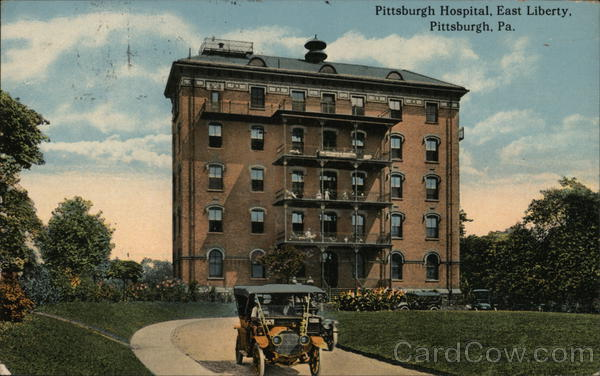Hospital Building, East Liberty Pittsburgh Pennsylvania
