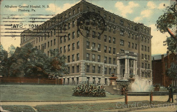 Allegheny General Hospital, N.S. Pittsburgh Pennsylvania