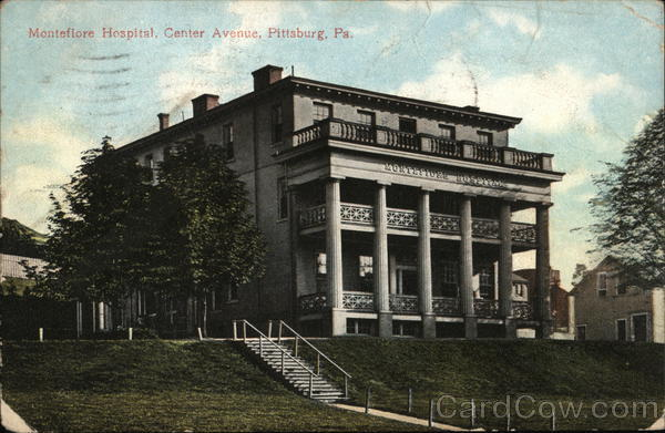 Monteflore Hospital, Center Avenue Pittsburgh Pennsylvania