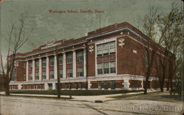 Washington School Danville Illinois