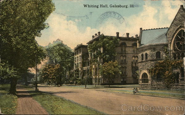 Whiting Hall Galesburg Illinois