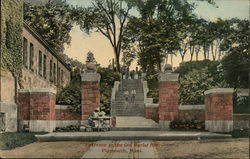 Entrance to the Old Burial Hill