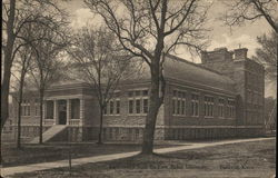 Gymnasium From the East, Baker University