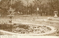 View of The Park Postcard