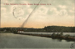 A New Hampshire Curiosity, Shaker Bridge Postcard