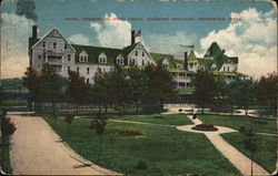 Hotel Pemberton, West Point, Showing Grounds