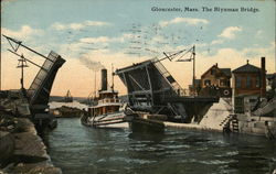 The Blynman Bridge Postcard