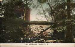 Old Mill Brook Postcard