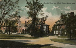 Brook's House and School House