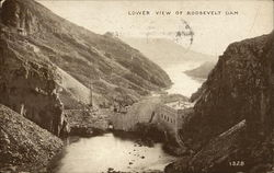 Lower View of Roosevelt Dam