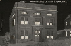 Masonic Temple at Night