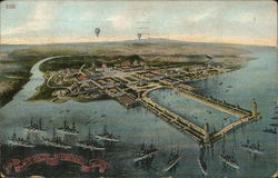 View of Jamestown Exposition