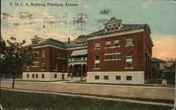 YMCA Building Postcard