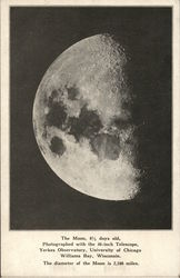 The Moon, From Yerkes Observatory