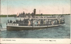 "Steamer ""Queen"", Lake Okoboji"