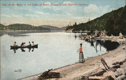 Lake of Bays, Grand Trunk Railway System