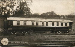 New Family Carriage, London & North Western Railway Company