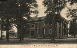 Carnegie Library at Bucknell University Postcard