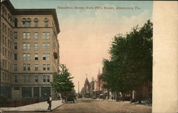 Hamilton Street, from Fifth Street