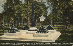 Monument of Col. Everitt Peabody, U.S. National Park