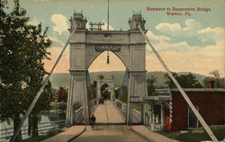 Entrance to Suspension Bridge