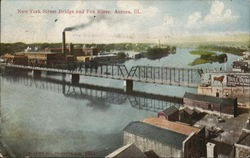 New York Street Bridge and Fox River