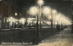 Night Scene, Broadway