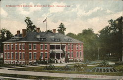 Headquarters Building at Soldiers' Home