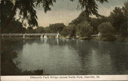 Ellsworth Park Bridge Across North Fork