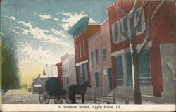 A Business Street Postcard
