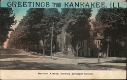 Harrison Avenue, Showing Episcopal Church