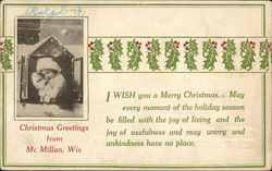 Christmas Greetings from McMillan, Wis.