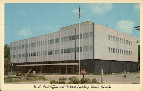 U.S. Post Office and Federal Building Ocala Florida