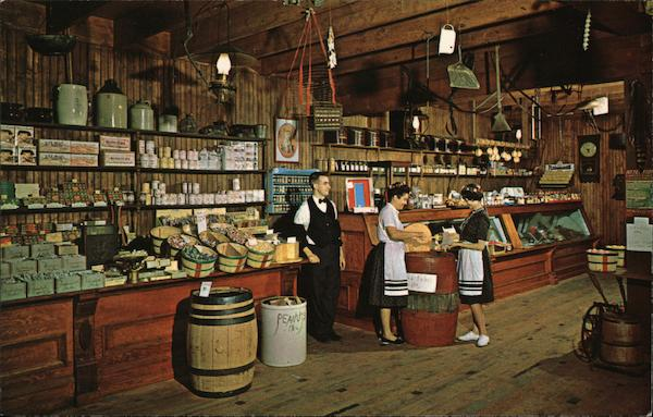 Rau's Country Store Frankenmuth Michigan John D. Freeman